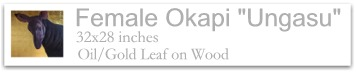 Female okapi Ungasu
